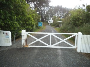 The Kaitoke carpark- start of the Incline section of the Rimutaka Cycle Trail.